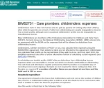 Tax expenses for childminders HMRC