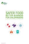 afer Food Better Business for Childminders 2016 version