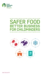 afer Food Better Business for Childminders 2016 version