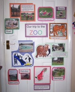 talking display for childminders