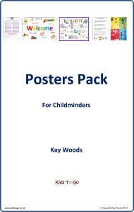 Posters Pack for Childminders