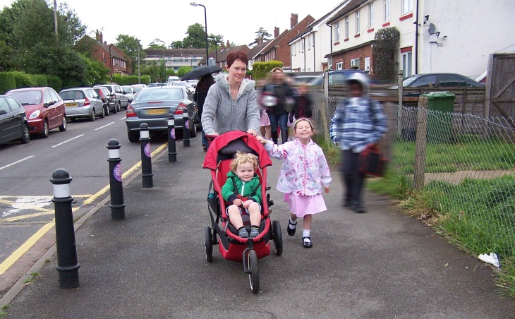 Road safety improved for childminders