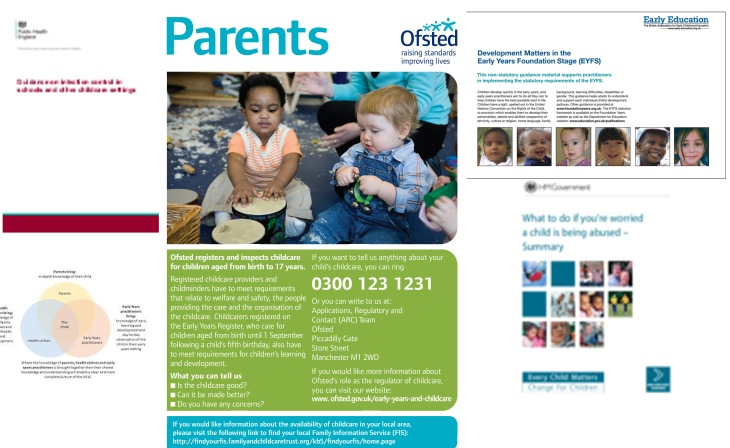up to date to useful documents for childminders