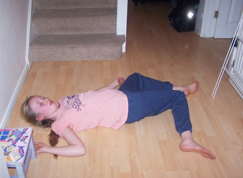unconscious child risk of spinal injury