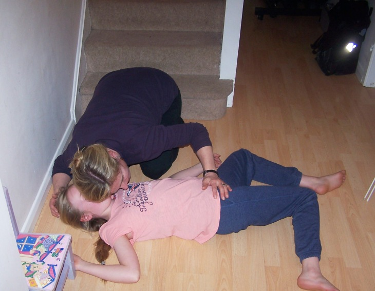 first aid pop quiz answer picture unconscious fall
