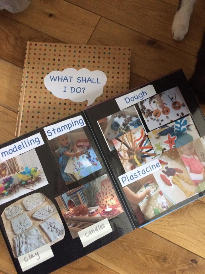 childminding in small spaces toys book