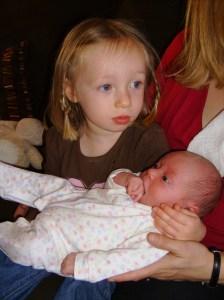 new sibling