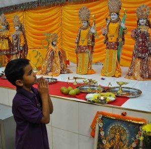 celebrating diwali with childminded children