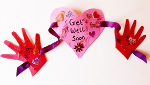 get well soon card for childminders