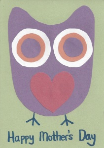 Mother's Day Card Owl