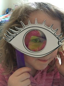 5 senses art project for childminders